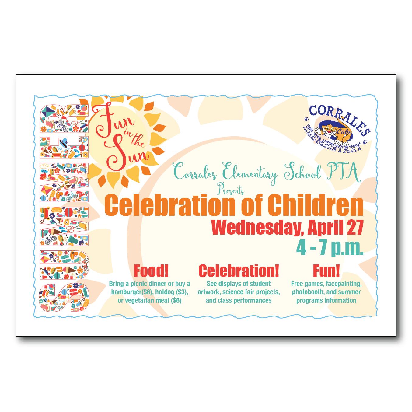 Celebration of Children Flyer #1